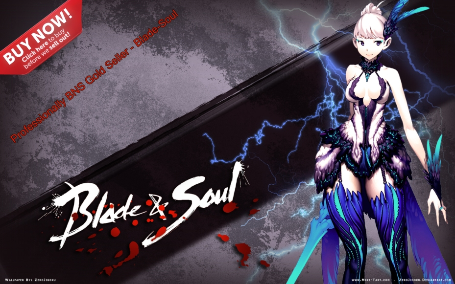 Professionally BNS Gold Seller Blade-Soul