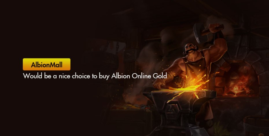 AlbionMall Albion Online Gold, the best price so far!